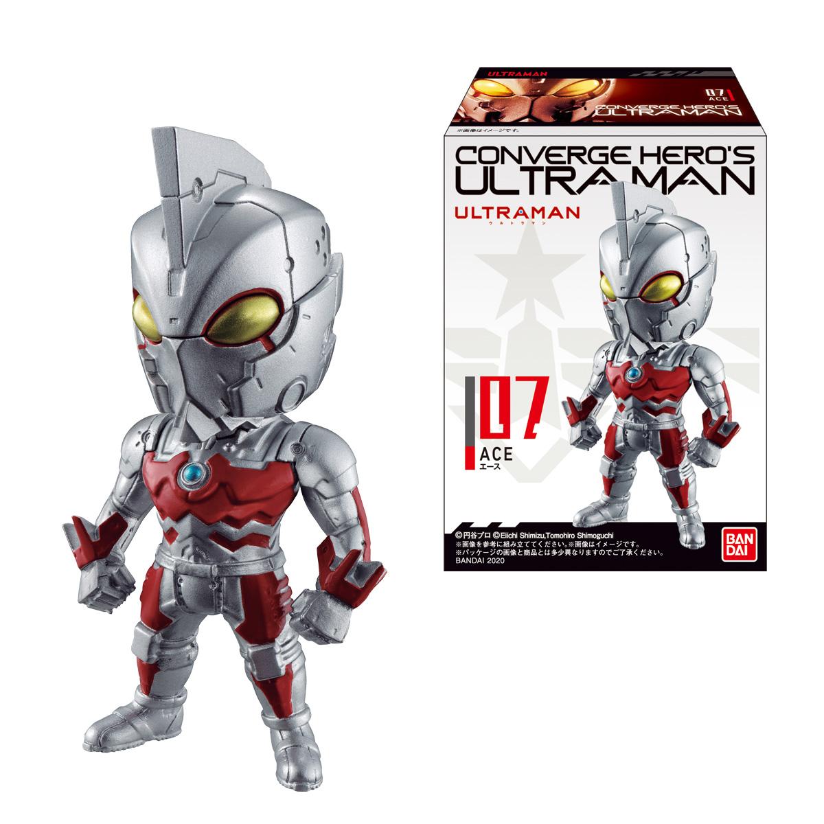 【食玩】コンバージ ヒーローズ ウルトラマン『CONVERGE HERO'S ULTRAMAN 02』10個入りBOX-001