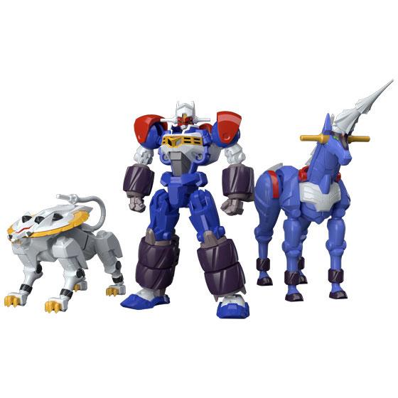 【食玩】スーパーミニプラ『電童&データウェポンセット』GEAR戦士電童 プラモデル