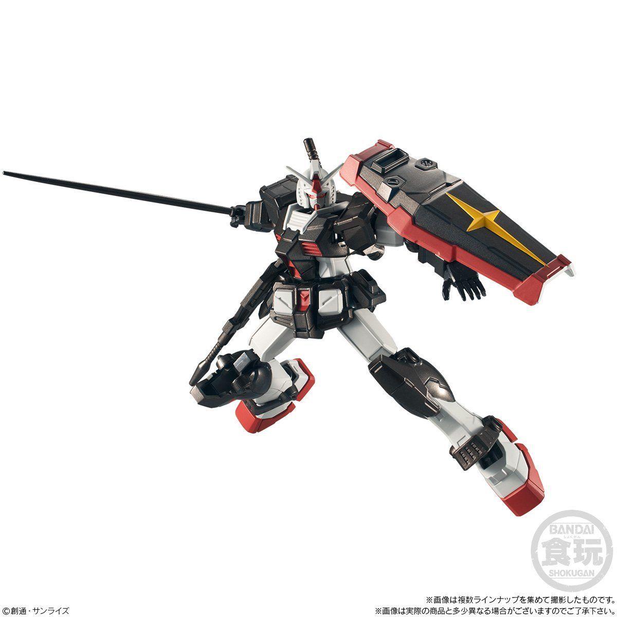 【食玩】機動戦士ガンダム『Gフレーム12』可動フィギュア 10個入りBOX-009