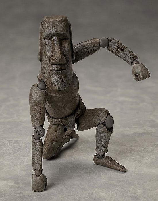 figma テーブル美術館-分館-『モアイ像』可動フィギュア-004
