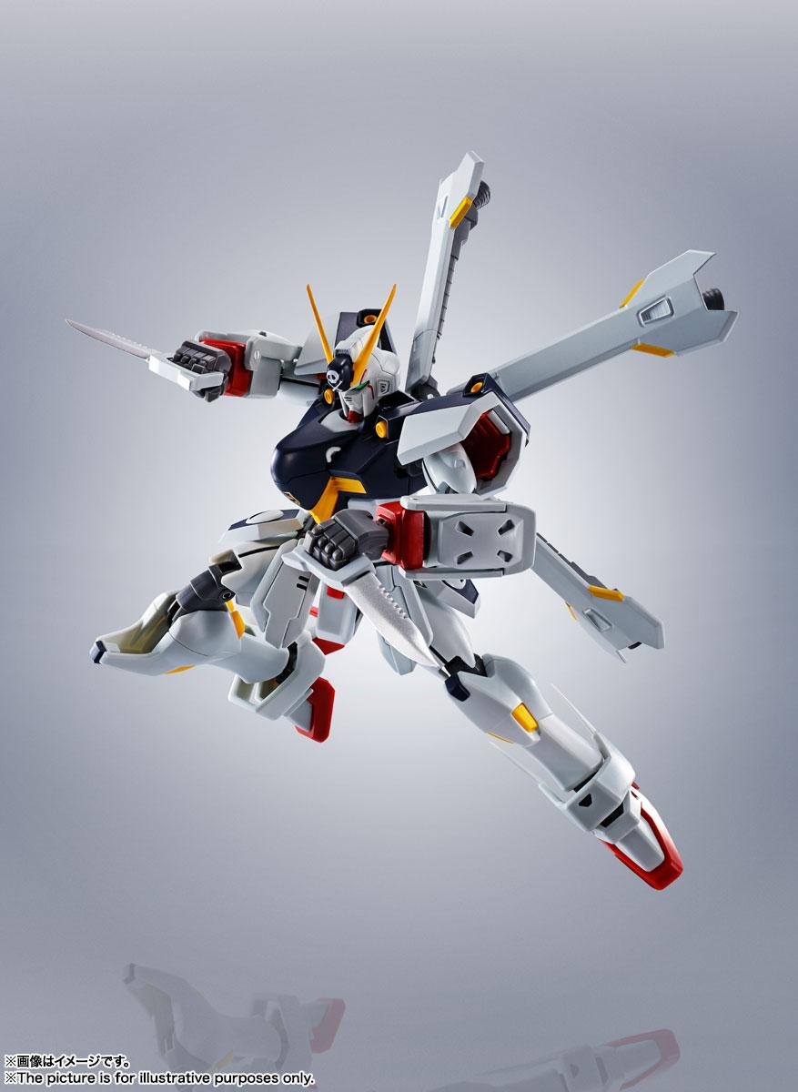ROBOT魂〈SIDE MS〉『ガンダムX1/X1改 EVOLUTION-SPEC』クロスボーン・ガンダム 可動フィギュア-002