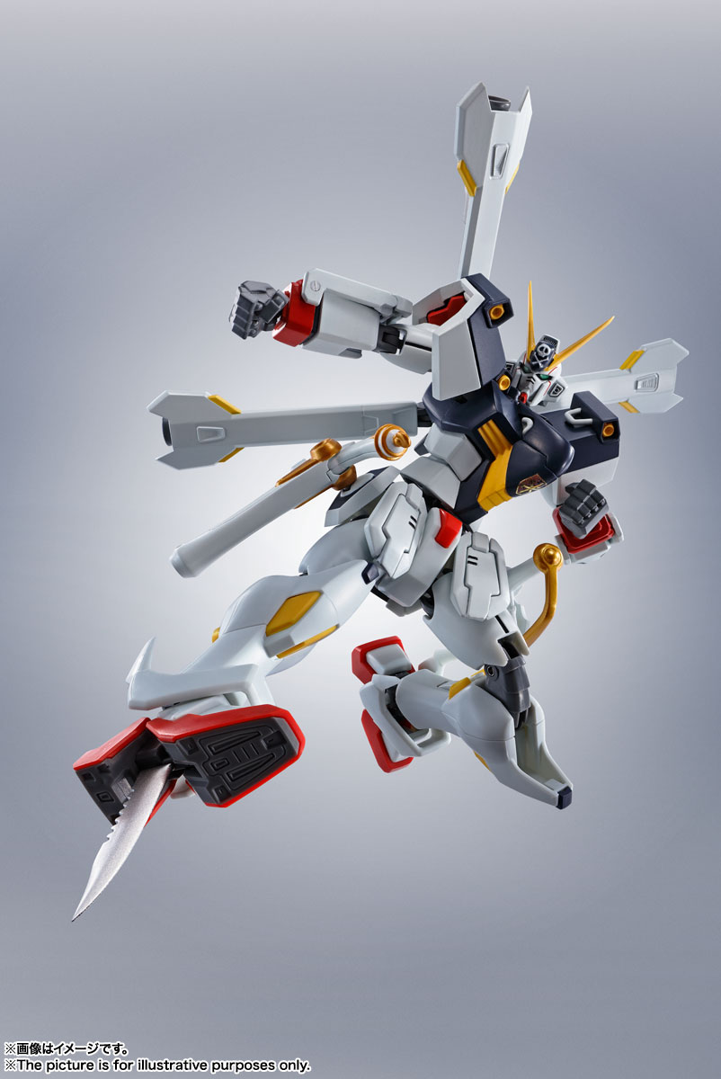 ROBOT魂〈SIDE MS〉『ガンダムX1/X1改 EVOLUTION-SPEC』クロスボーン・ガンダム 可動フィギュア-003