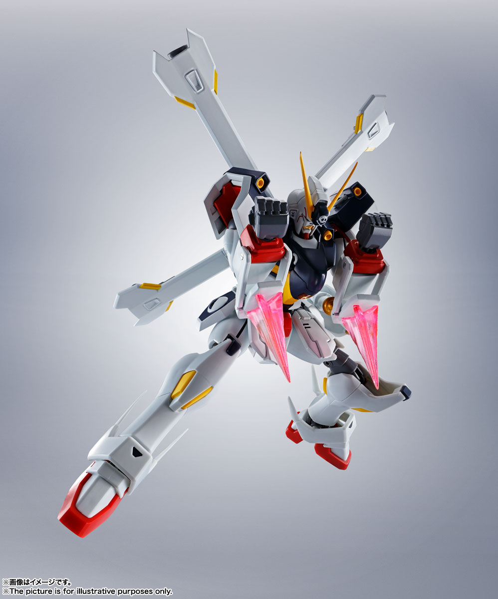 ROBOT魂〈SIDE MS〉『ガンダムX1/X1改 EVOLUTION-SPEC』クロスボーン・ガンダム 可動フィギュア-005