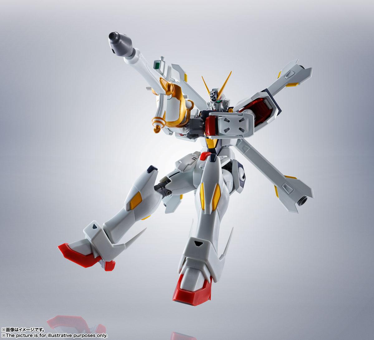 ROBOT魂〈SIDE MS〉『ガンダムX1/X1改 EVOLUTION-SPEC』クロスボーン・ガンダム 可動フィギュア-006