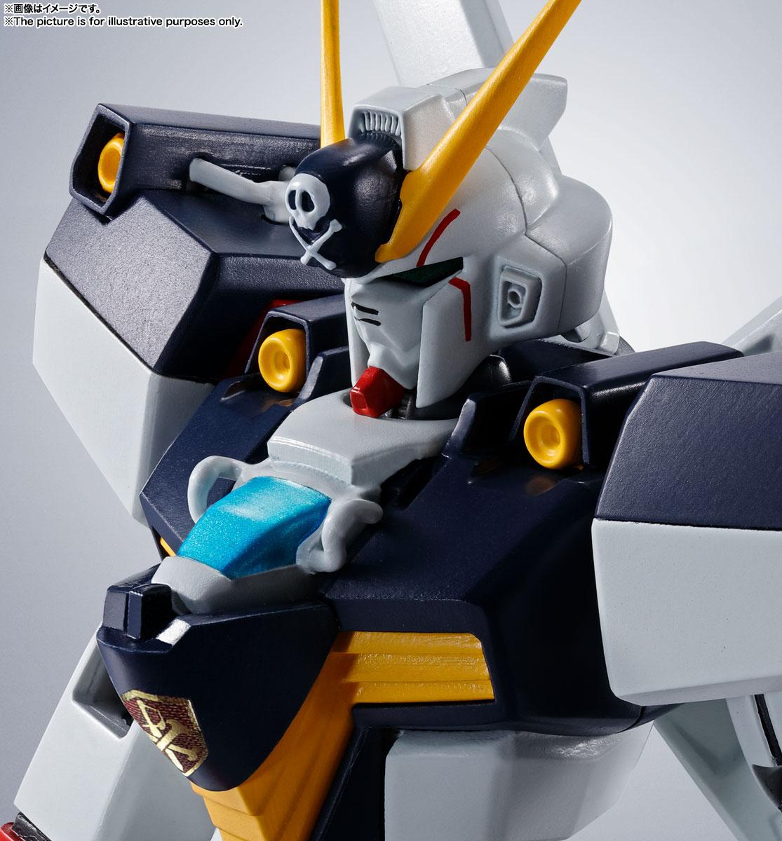 ROBOT魂〈SIDE MS〉『ガンダムX1/X1改 EVOLUTION-SPEC』クロスボーン・ガンダム 可動フィギュア-008