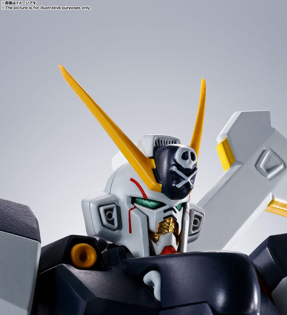 ROBOT魂〈SIDE MS〉『ガンダムX1/X1改 EVOLUTION-SPEC』クロスボーン・ガンダム 可動フィギュア-010