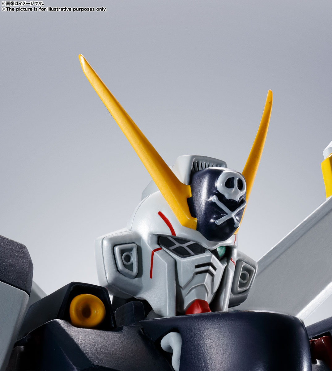 ROBOT魂〈SIDE MS〉『ガンダムX1/X1改 EVOLUTION-SPEC』クロスボーン・ガンダム 可動フィギュア-011