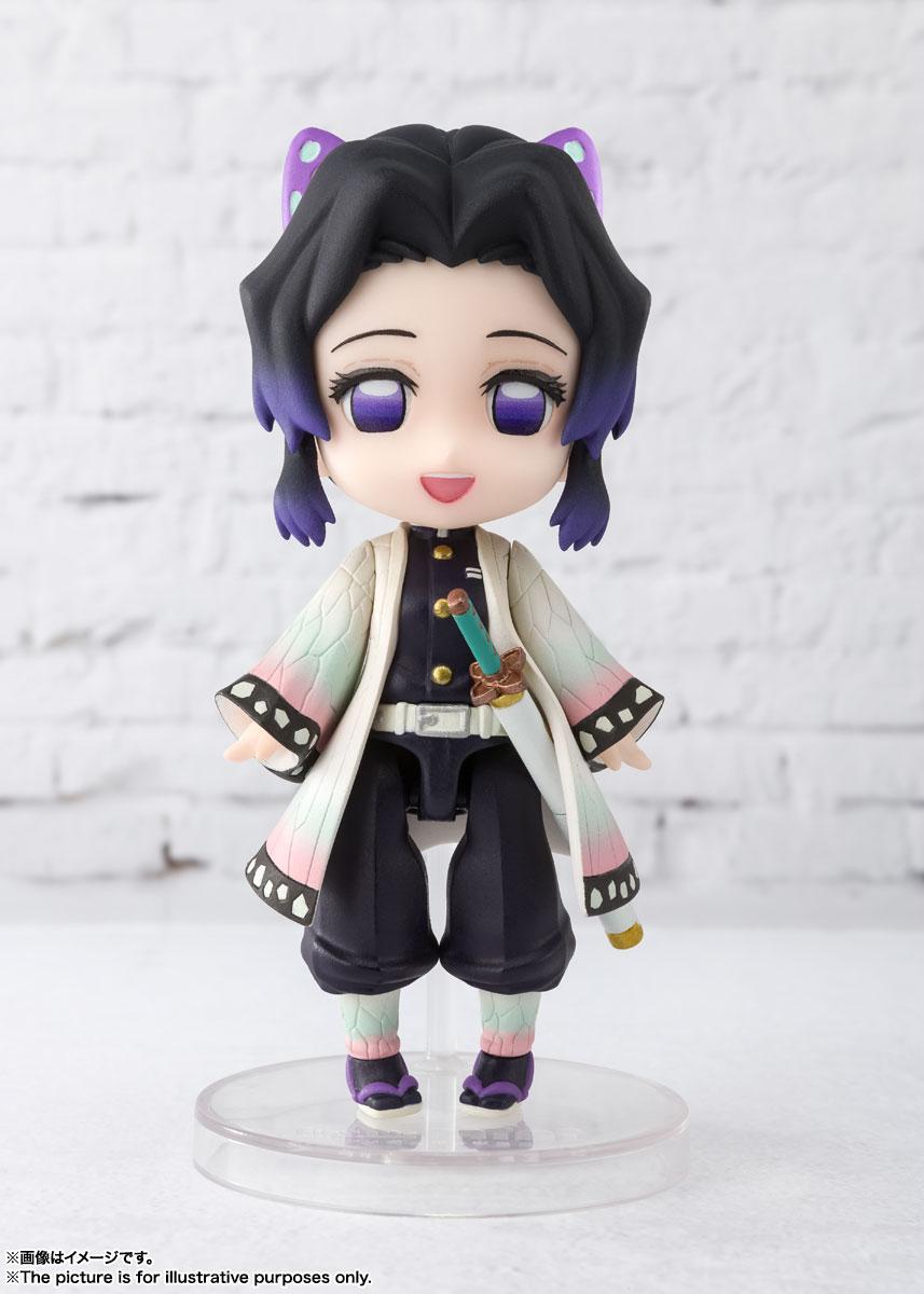 Figuarts mini『胡蝶しのぶ(こちょう しのぶ)』鬼滅の刃 デフォルメ可動フィギュア-002