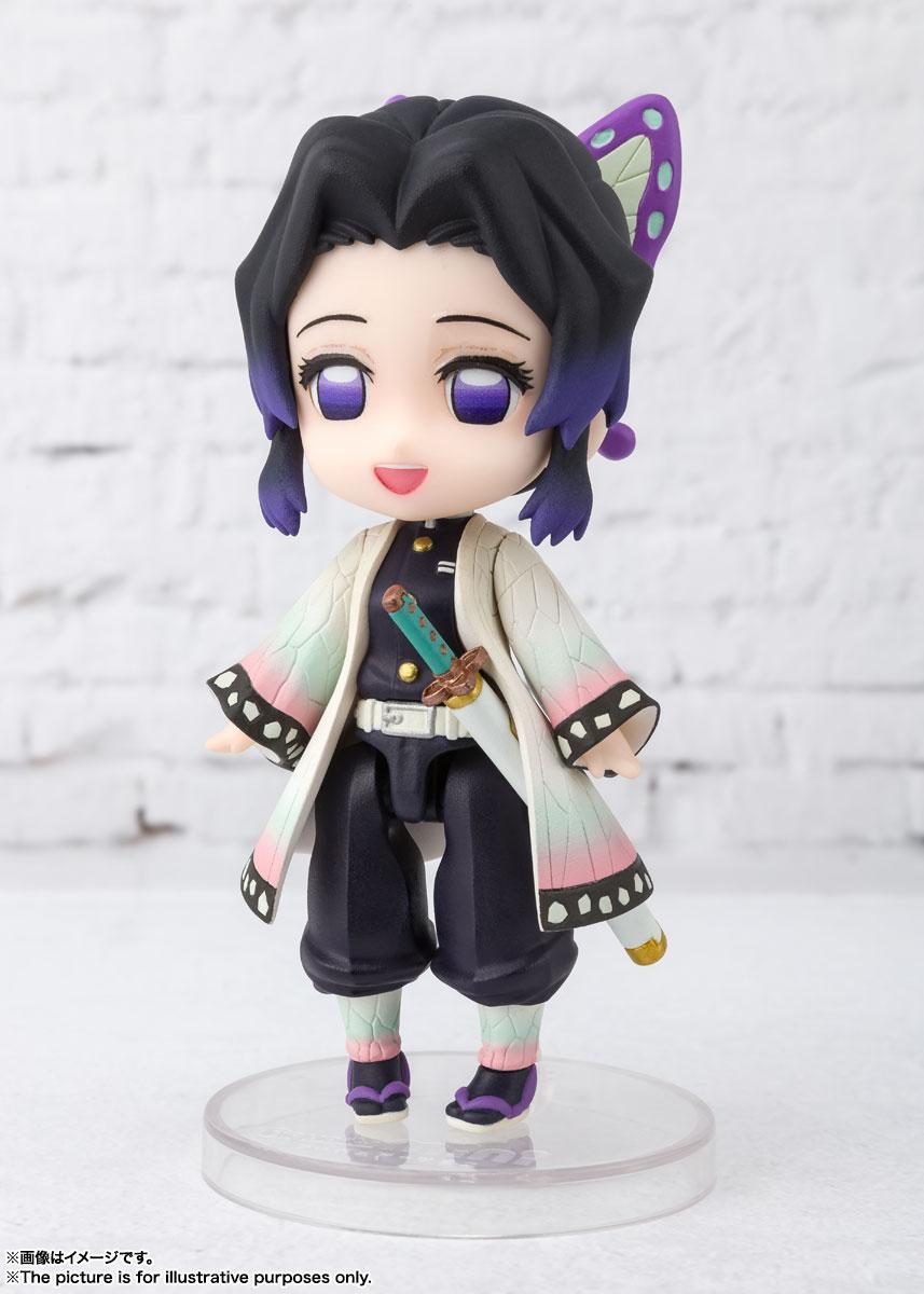 Figuarts mini『胡蝶しのぶ(こちょう しのぶ)』鬼滅の刃 デフォルメ可動フィギュア-003