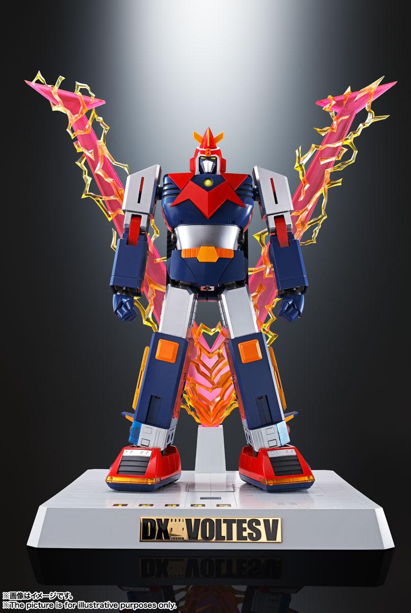DX超合金魂『VOLT IN BOX 超電磁マシーン ボルテスV』可動フィギュア-014