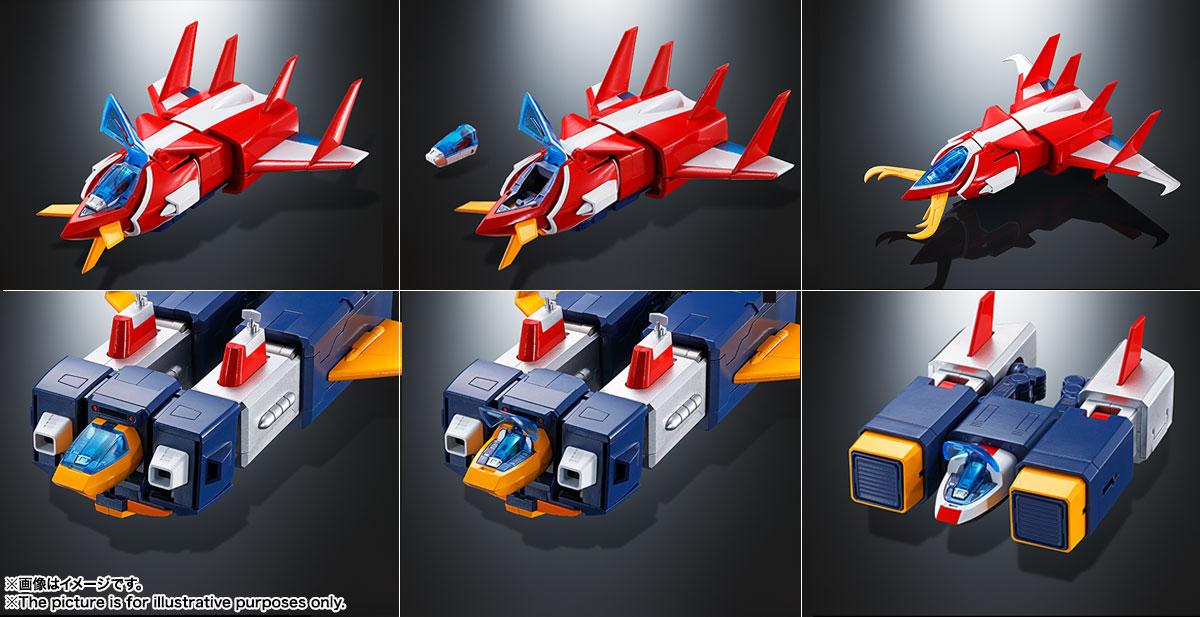 DX超合金魂『VOLT IN BOX 超電磁マシーン ボルテスV』可動フィギュア-017