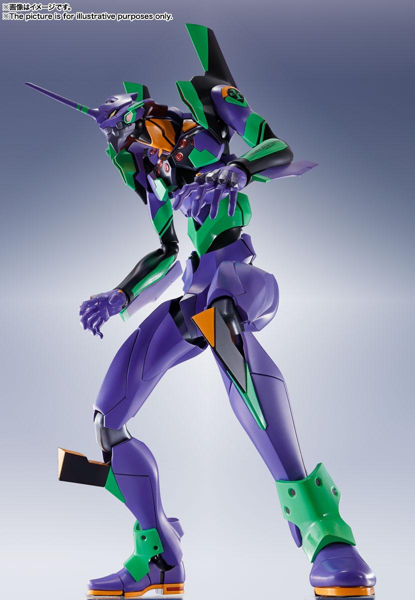 DYNACTION『汎用ヒト型決戦兵器 人造人間エヴァンゲリオン初号機』ダイナクション 可動フィギュア-001
