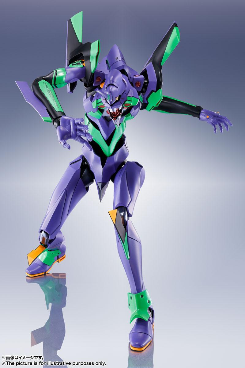 DYNACTION『汎用ヒト型決戦兵器 人造人間エヴァンゲリオン初号機』ダイナクション 可動フィギュア-003