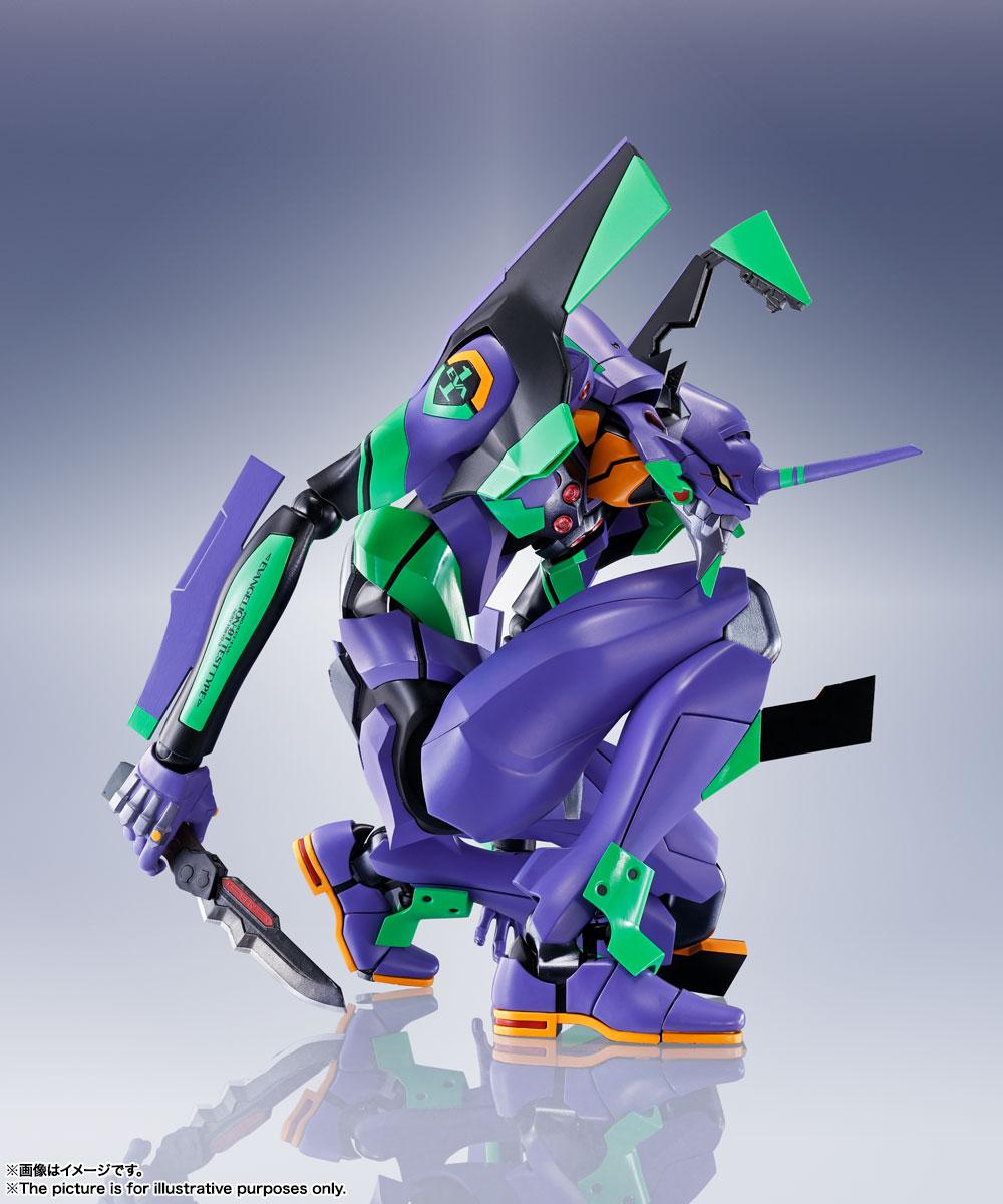 DYNACTION『汎用ヒト型決戦兵器 人造人間エヴァンゲリオン初号機』ダイナクション 可動フィギュア-004