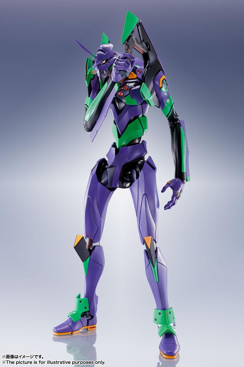 DYNACTION『汎用ヒト型決戦兵器 人造人間エヴァンゲリオン初号機』ダイナクション 可動フィギュア-005
