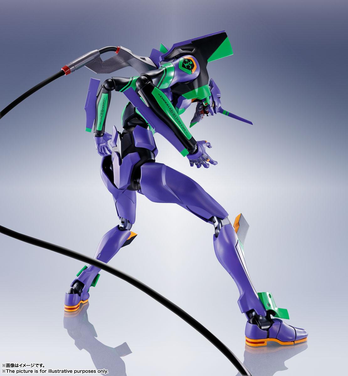 DYNACTION『汎用ヒト型決戦兵器 人造人間エヴァンゲリオン初号機』ダイナクション 可動フィギュア-006