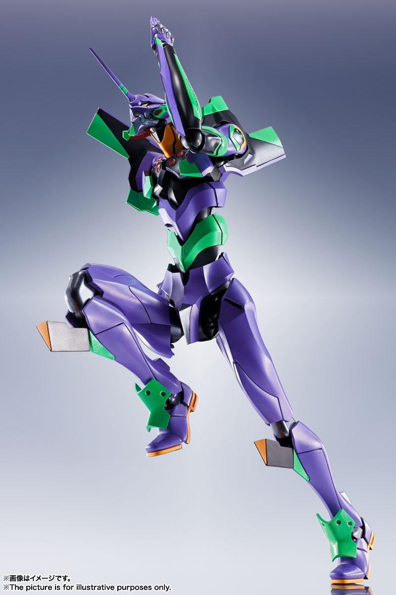 DYNACTION『汎用ヒト型決戦兵器 人造人間エヴァンゲリオン初号機』ダイナクション 可動フィギュア-008