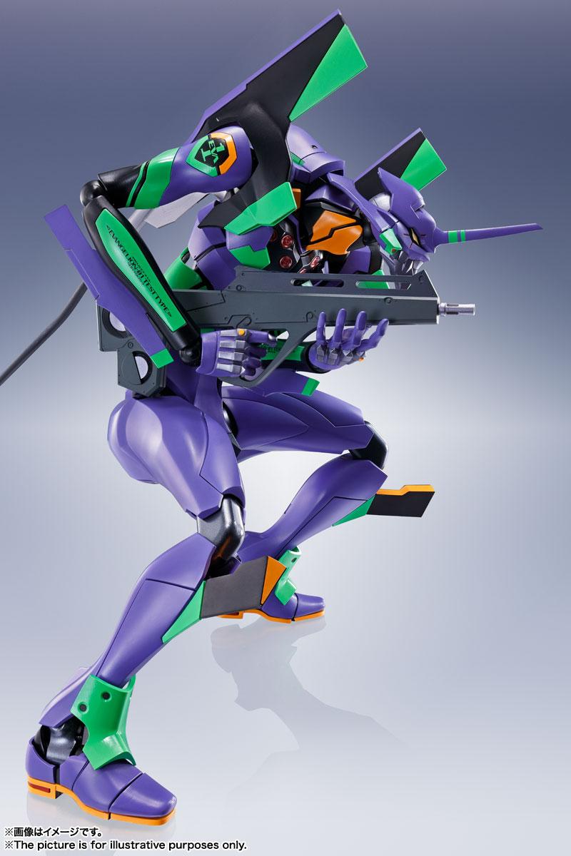 DYNACTION『汎用ヒト型決戦兵器 人造人間エヴァンゲリオン初号機』ダイナクション 可動フィギュア-009