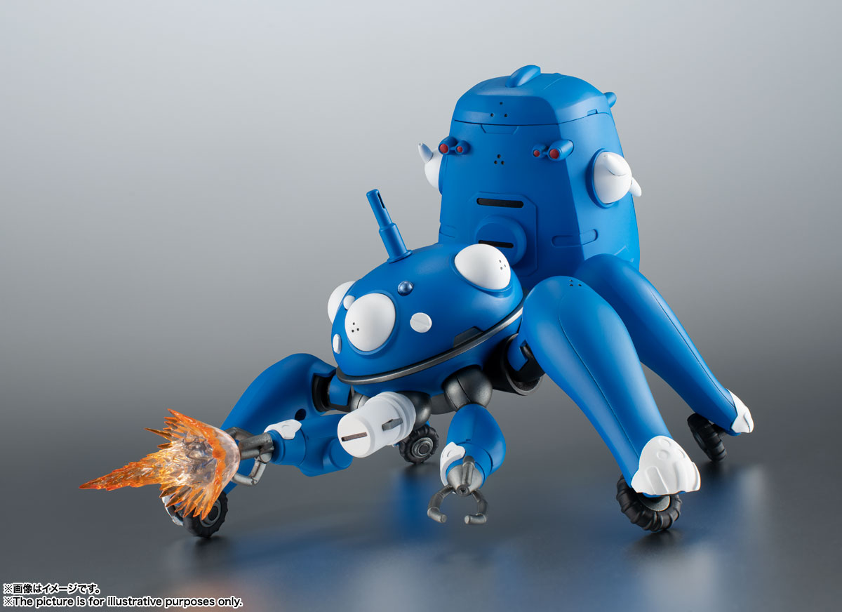 ROBOT魂〈SIDE GHOST〉『タチコマ -攻殻機動隊 S.A.C. 2nd GIG&SAC_2045-』可動フィギュア-003