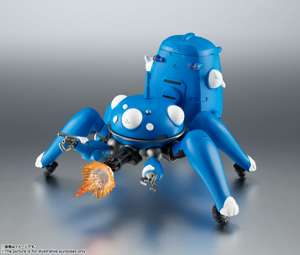 ROBOT魂〈SIDE GHOST〉『タチコマ -攻殻機動隊 S.A.C. 2nd GIG&SAC_2045-』可動フィギュア-004