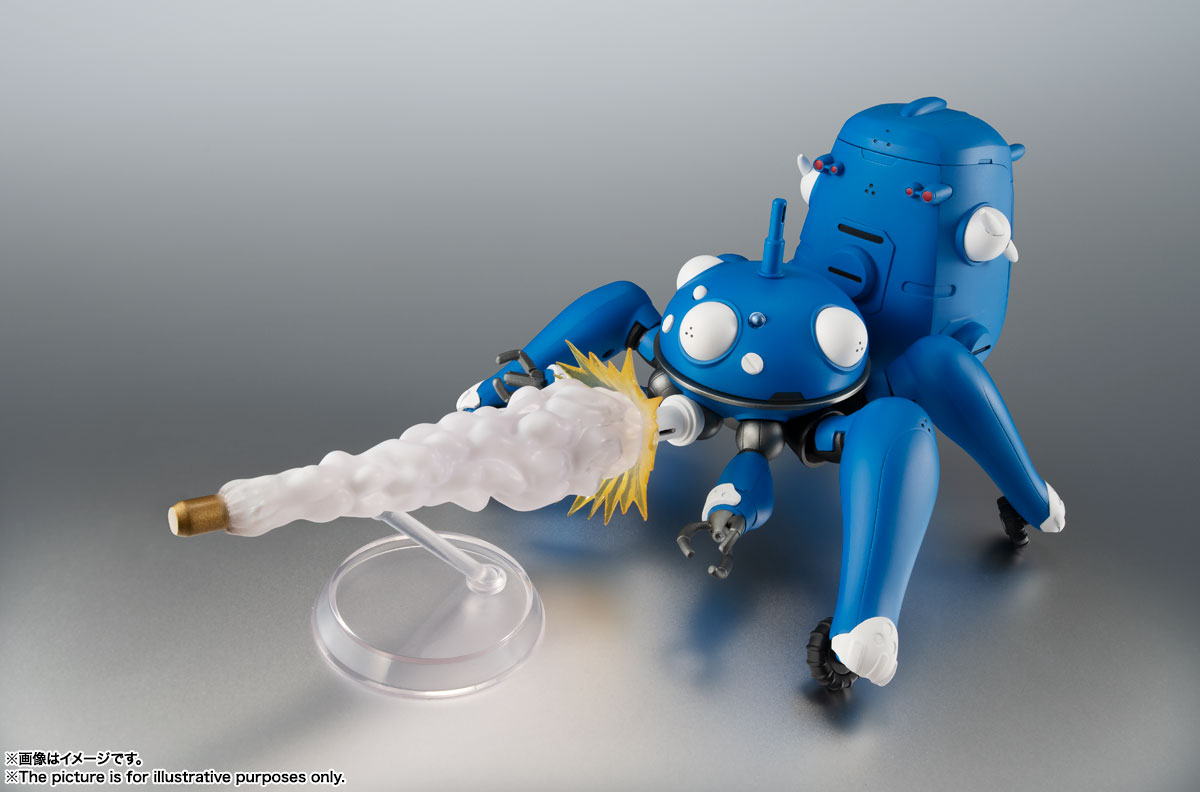 ROBOT魂〈SIDE GHOST〉『タチコマ -攻殻機動隊 S.A.C. 2nd GIG&SAC_2045-』可動フィギュア-005