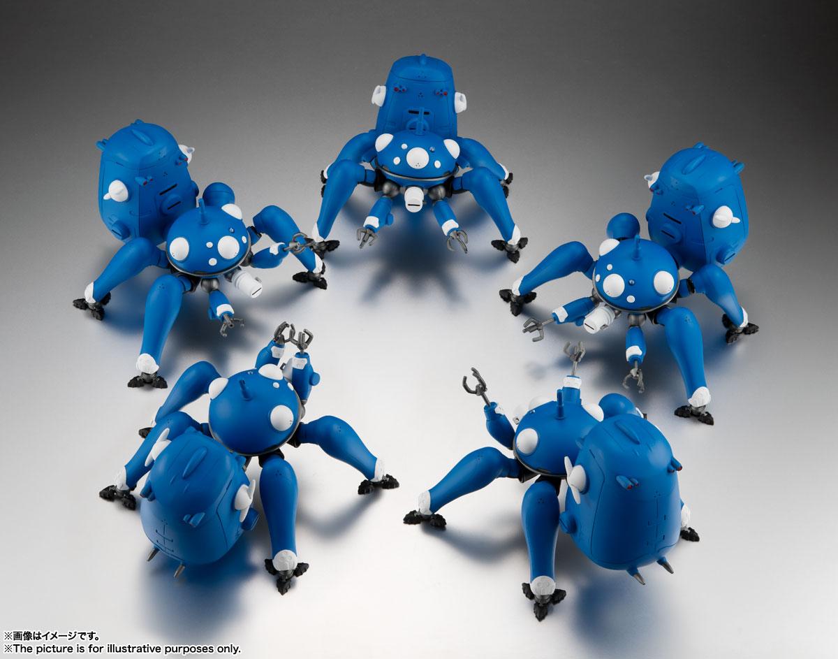 ROBOT魂〈SIDE GHOST〉『タチコマ -攻殻機動隊 S.A.C. 2nd GIG&SAC_2045-』可動フィギュア-008