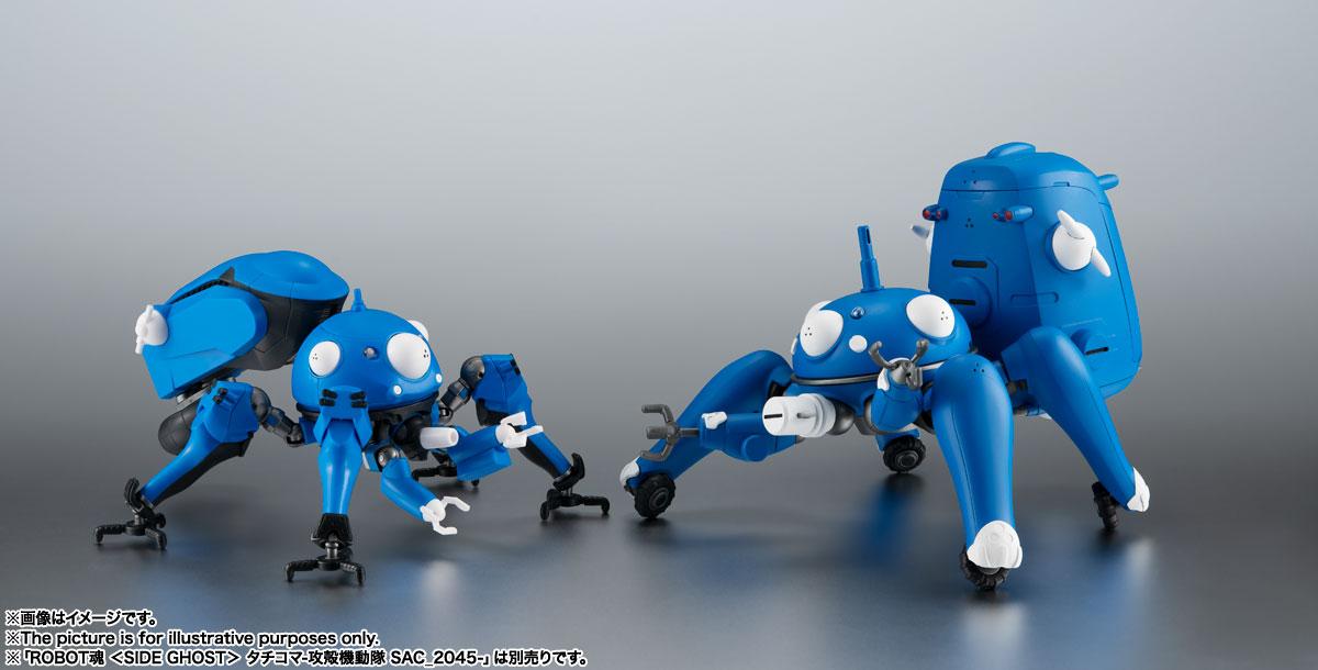 ROBOT魂〈SIDE GHOST〉『タチコマ -攻殻機動隊 S.A.C. 2nd GIG&SAC_2045-』可動フィギュア-009