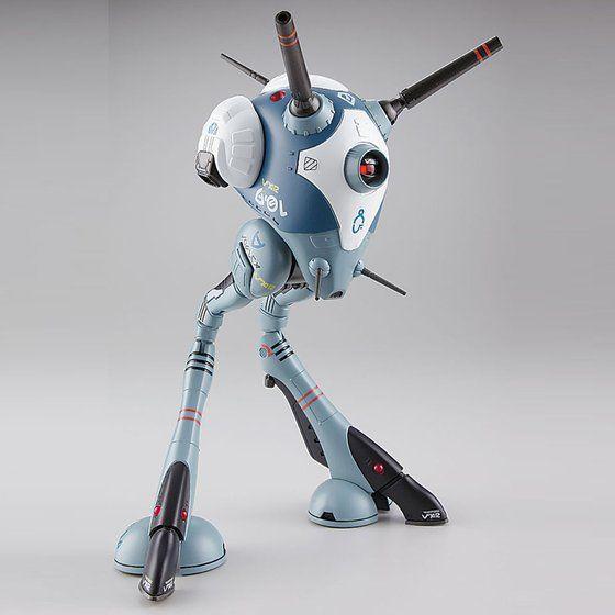 【再販】超時空要塞マクロス『標準量産タイプ:ワンマン戦闘ポッド リガード』1/72 プラモデル
