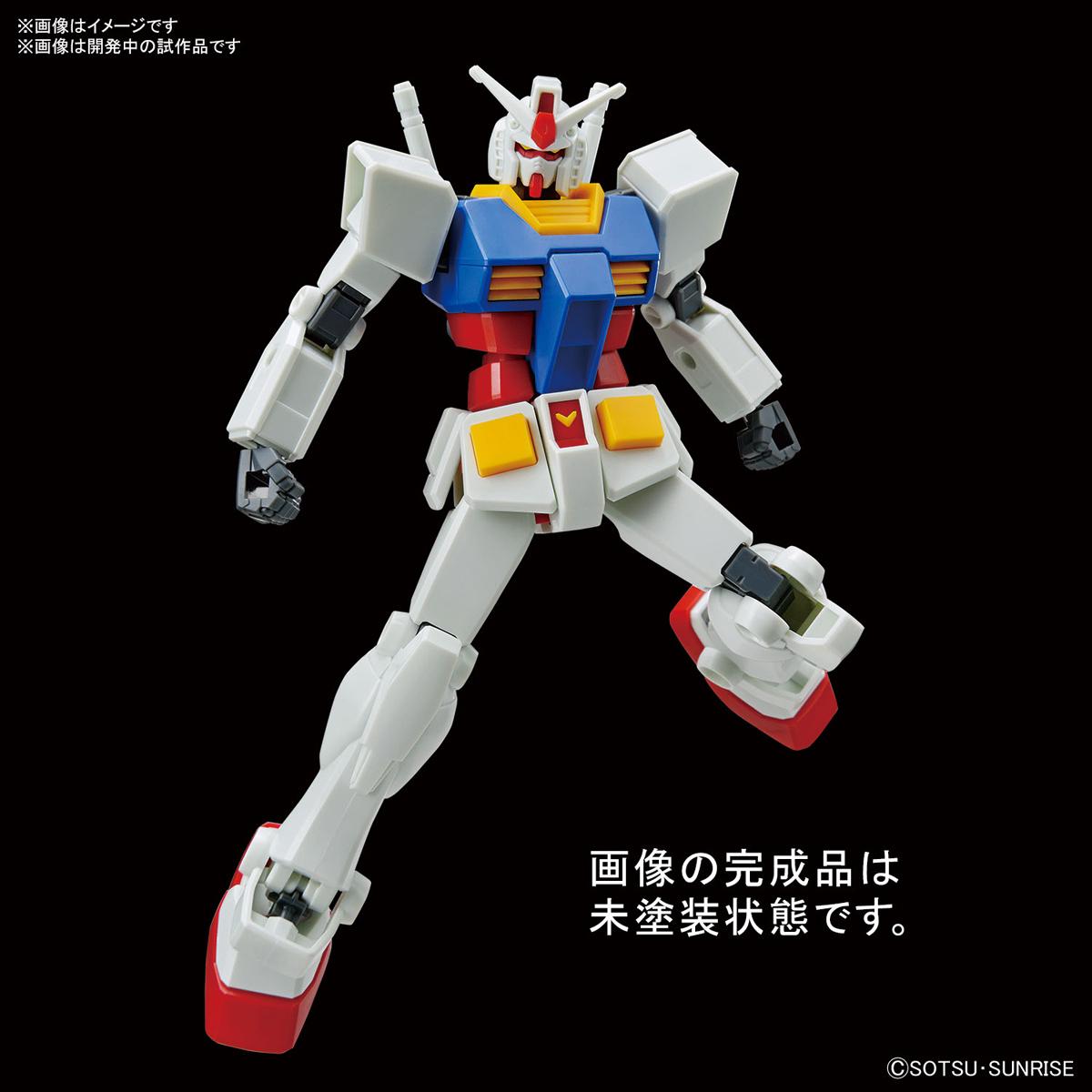 ENTRY GRADE『RX-78-2 ガンダム(ライトパッケージVer.)』1/144 プラモデル-002