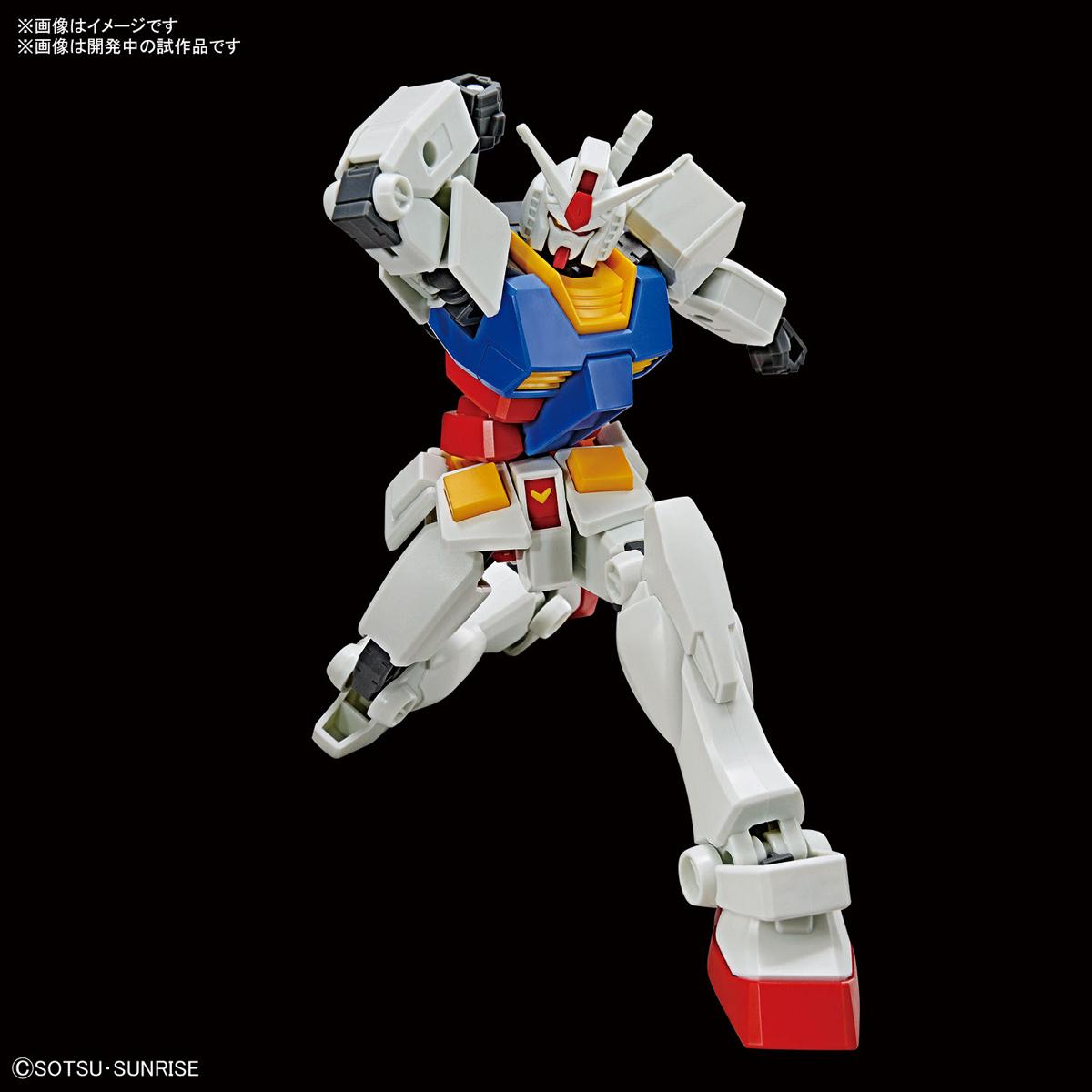 ENTRY GRADE『RX-78-2 ガンダム(ライトパッケージVer.)』1/144 プラモデル-003