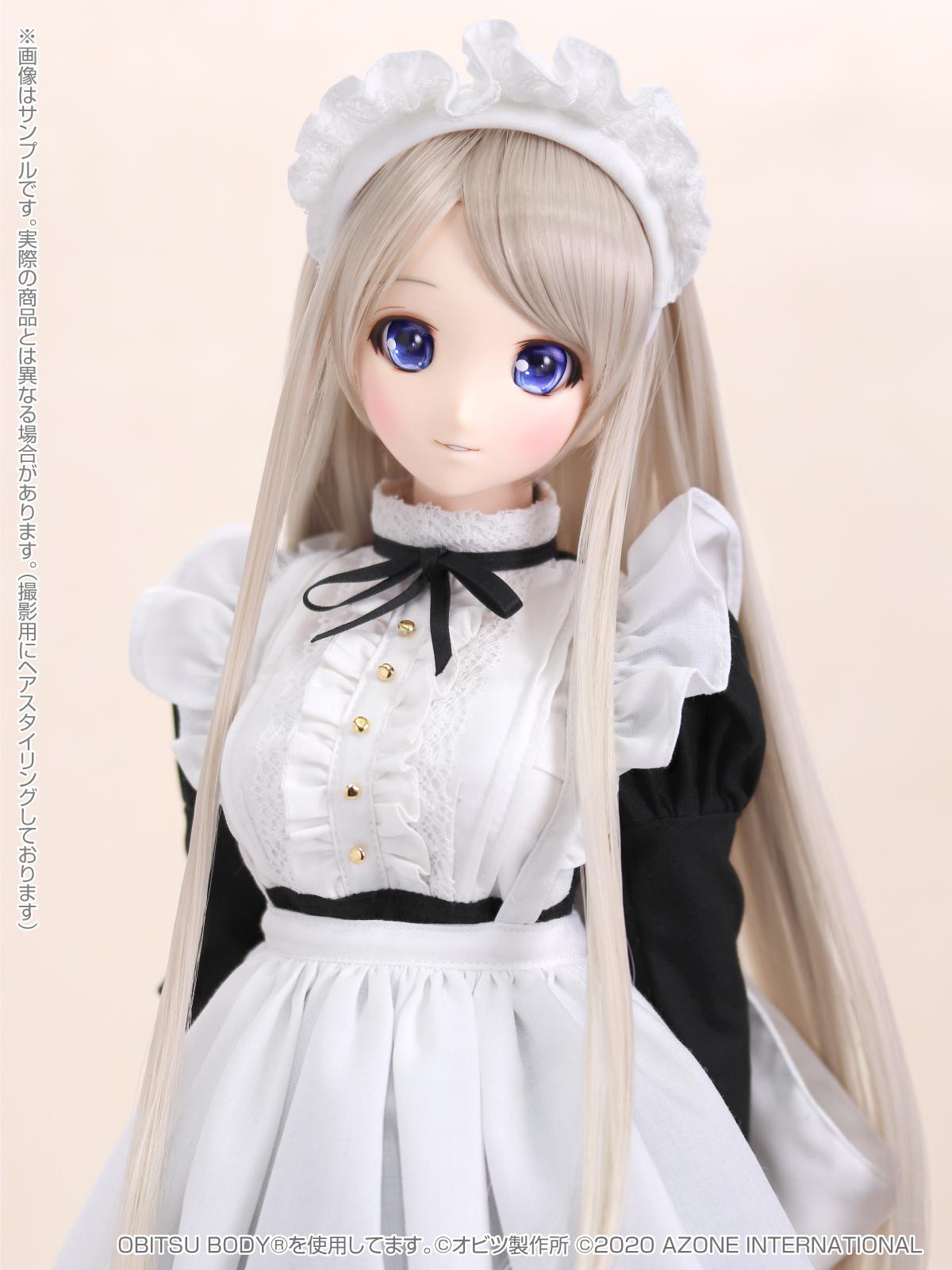 Iris Collect(アイリス コレクト)『ノワ/Classy Maid(Luxe black ver.)クラッシー・メイド(リュクス・ブラックver.)』1/3 完成品ドール-001