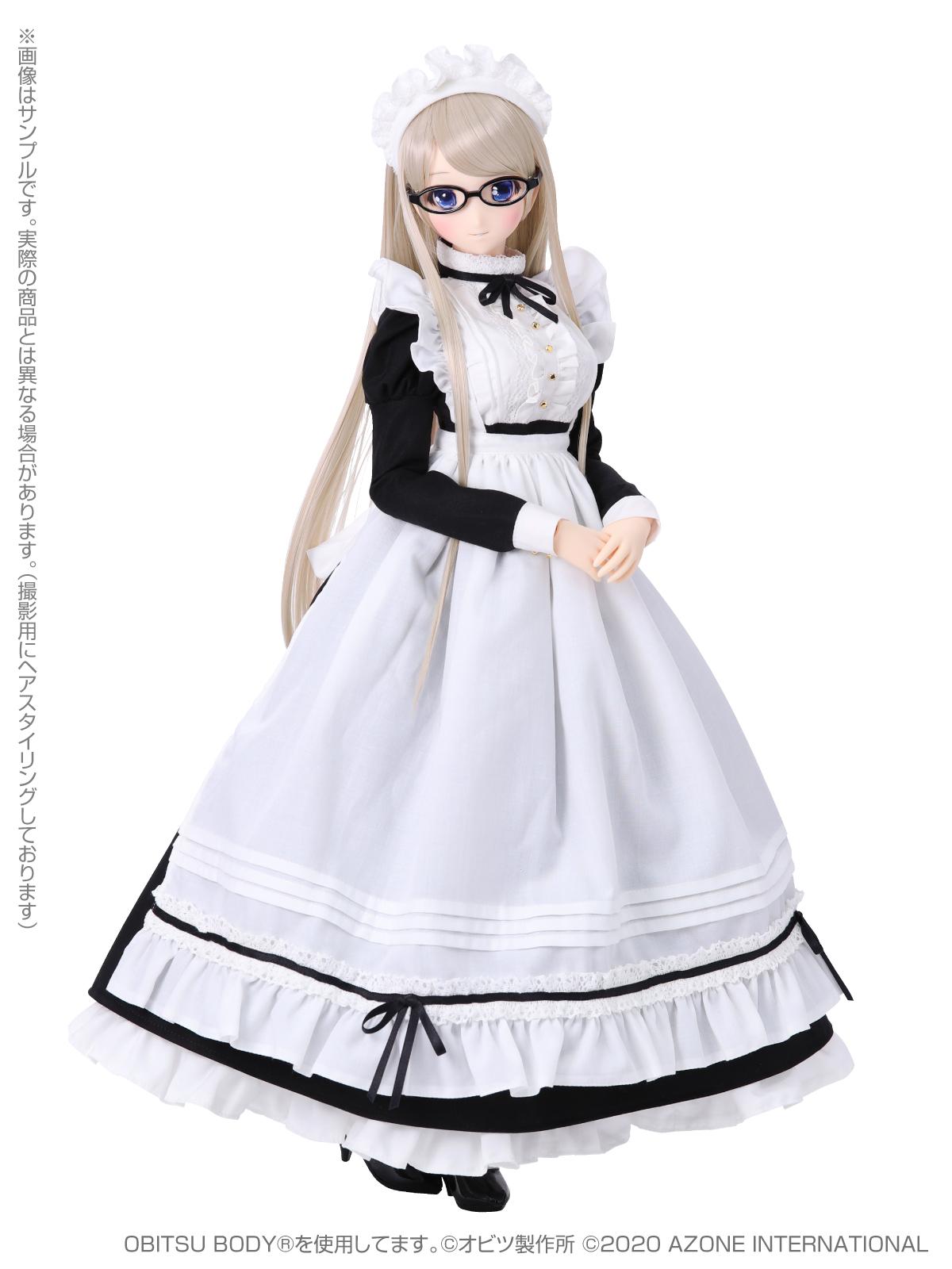 Iris Collect(アイリス コレクト)『ノワ/Classy Maid(Luxe black ver.)クラッシー・メイド(リュクス・ブラックver.)』1/3 完成品ドール-002