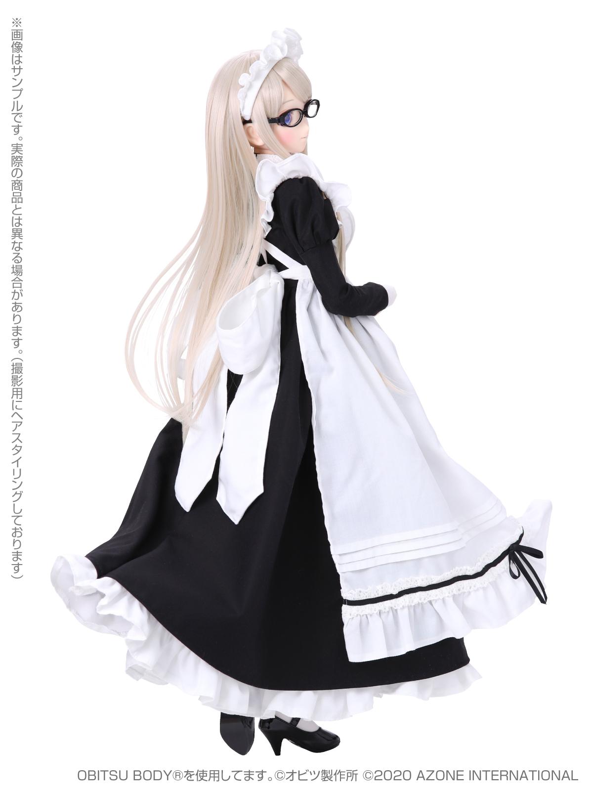 Iris Collect(アイリス コレクト)『ノワ/Classy Maid(Luxe black ver.)クラッシー・メイド(リュクス・ブラックver.)』1/3 完成品ドール-003