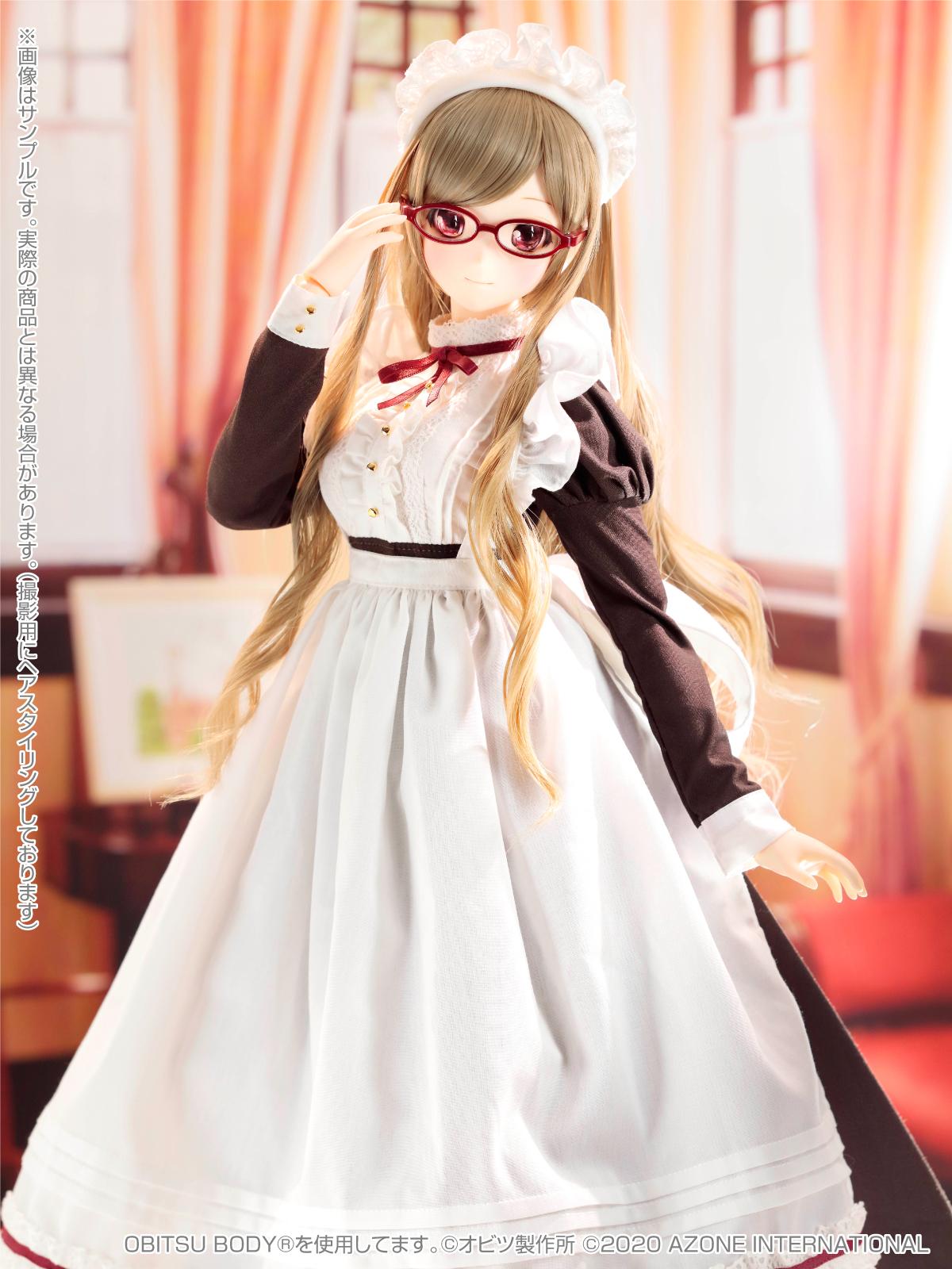Iris Collect(アイリス コレクト)『ノワ/Classy Maid(Luxe black ver.)クラッシー・メイド(リュクス・ブラックver.)』1/3 完成品ドール-008