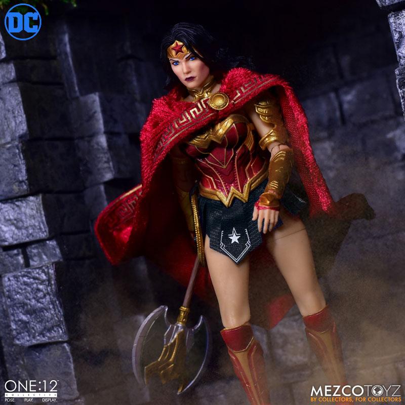ワン12コレクティブ『モダン ワンダーウーマン』DCコミックス 1/12 アクションフィギュア-003