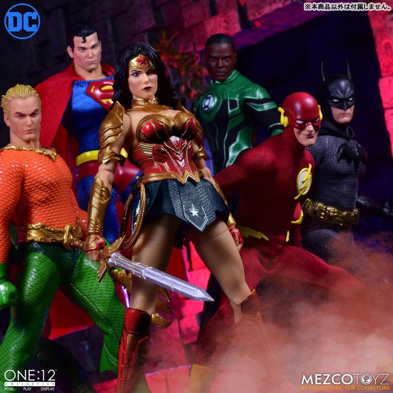 ワン12コレクティブ『モダン ワンダーウーマン』DCコミックス 1/12 アクションフィギュア-012