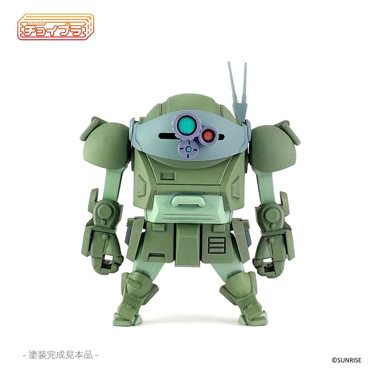 チョイプラ『装甲騎兵ボトムズ スコープドッグ』プラモデル-001