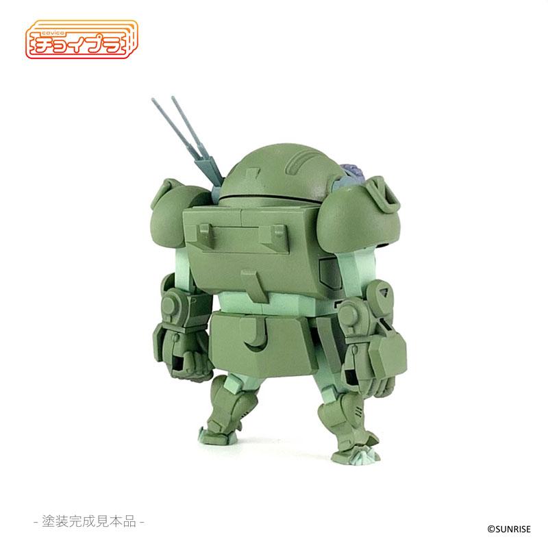 チョイプラ『装甲騎兵ボトムズ スコープドッグ』プラモデル-007