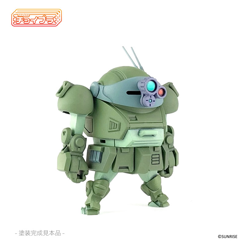 チョイプラ『装甲騎兵ボトムズ スコープドッグ』プラモデル-009