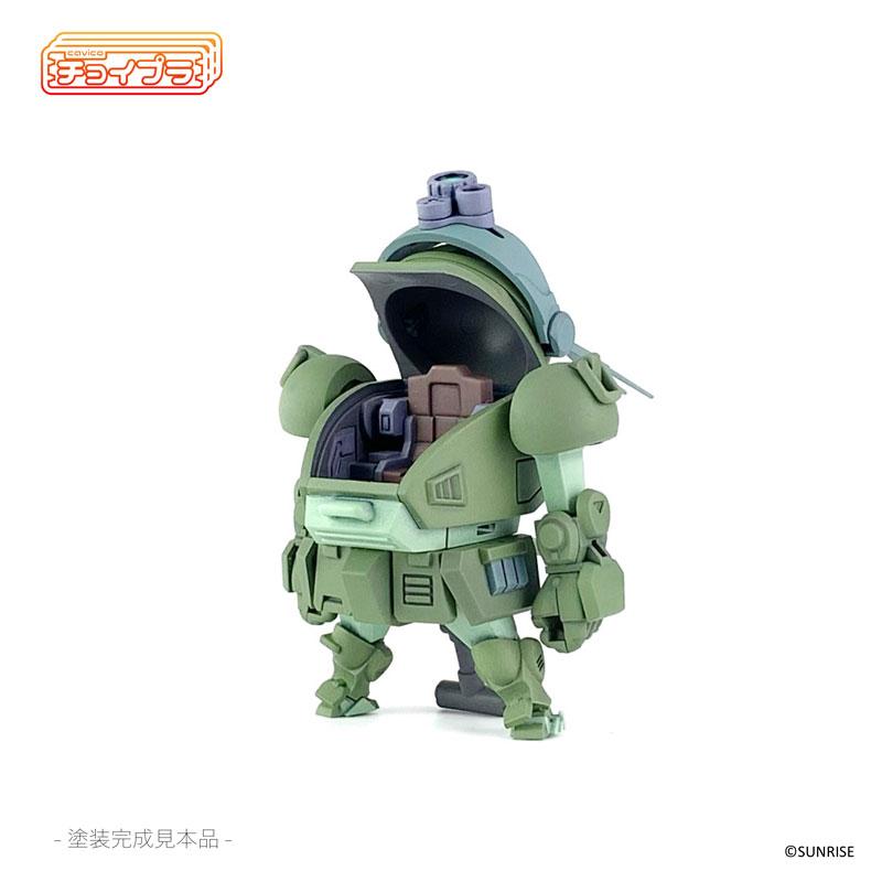 チョイプラ『装甲騎兵ボトムズ スコープドッグ』プラモデル-010