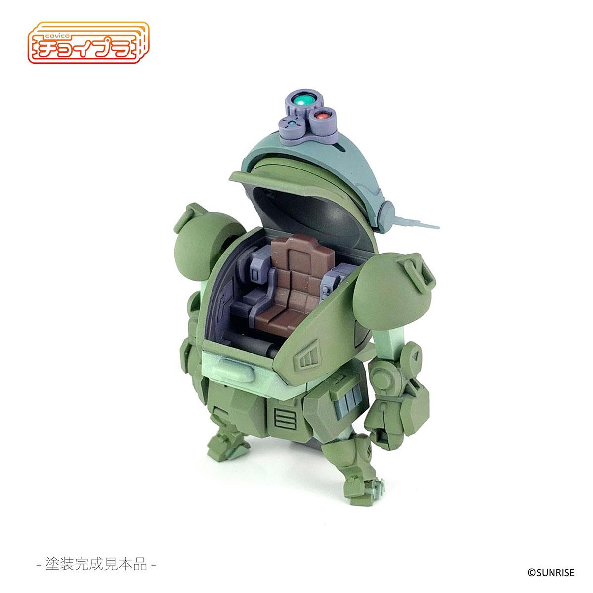 チョイプラ『装甲騎兵ボトムズ スコープドッグ』プラモデル-011
