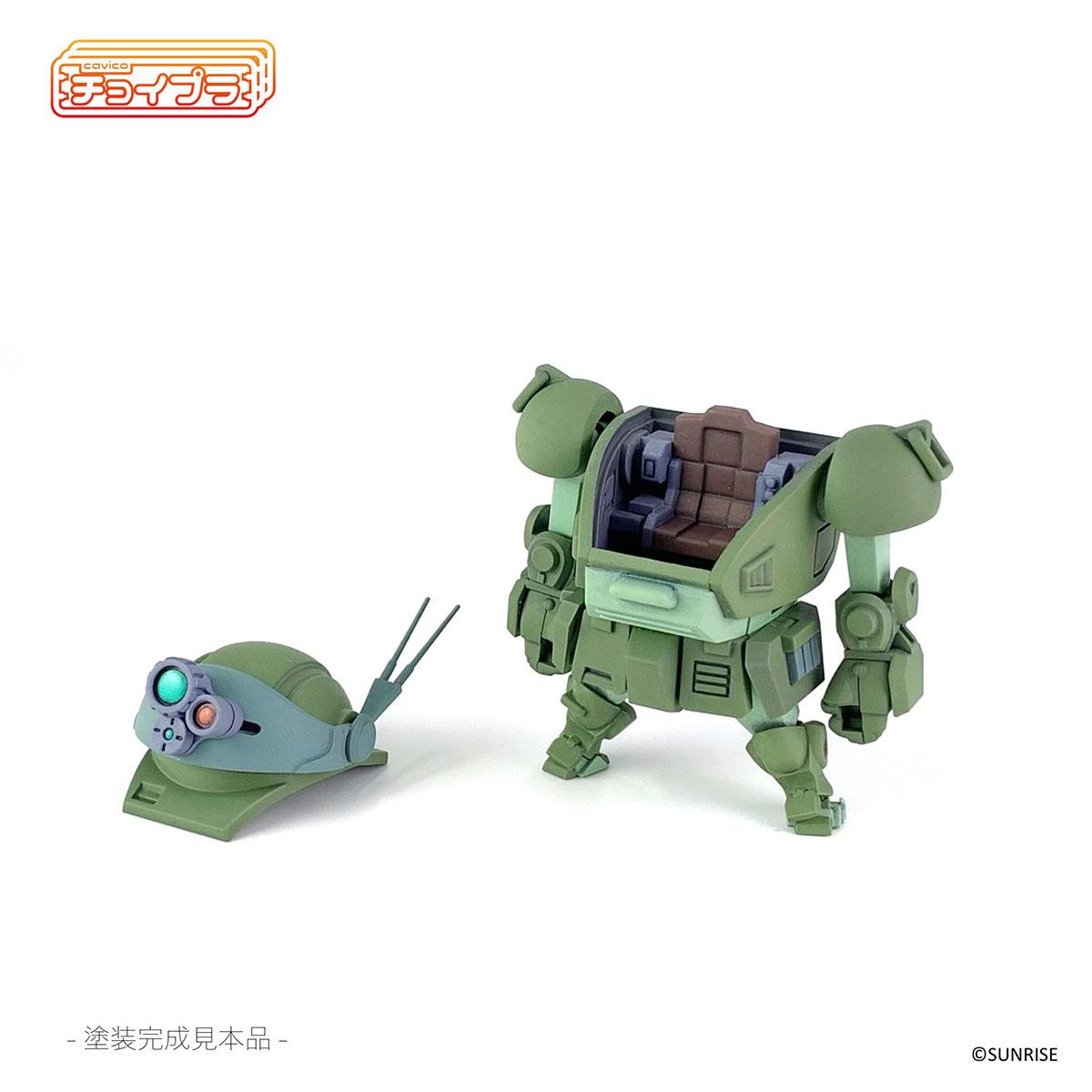 チョイプラ『装甲騎兵ボトムズ スコープドッグ』プラモデル-012