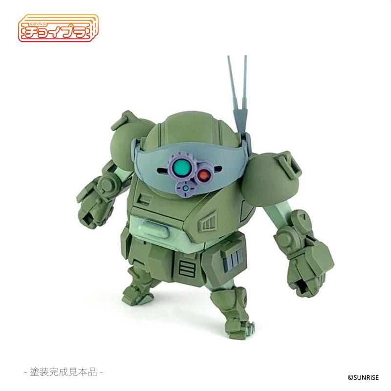 チョイプラ『装甲騎兵ボトムズ スコープドッグ』プラモデル-015