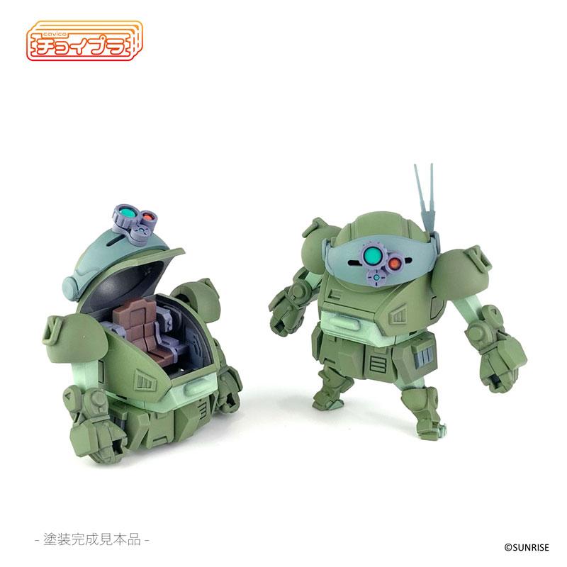チョイプラ『装甲騎兵ボトムズ スコープドッグ』プラモデル-016