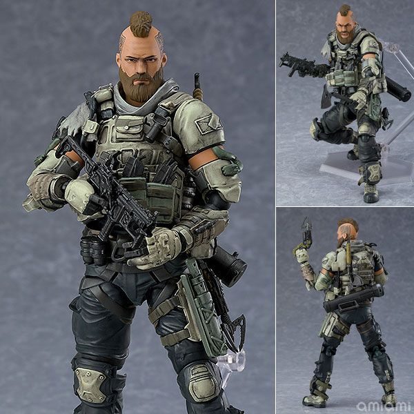 figma『ルイン(Ruin)』CALL OF DUTY: BLACK OPS 4 可動フィギュア