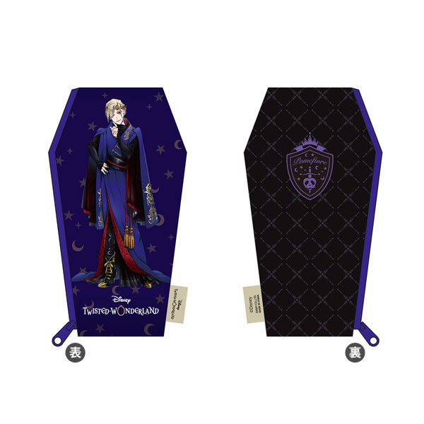 ツイステ『ディズニー ツイステッドワンダーランド きゃらポ シリーズ 棺型ポーチ vol.1』12個入りBOX-014