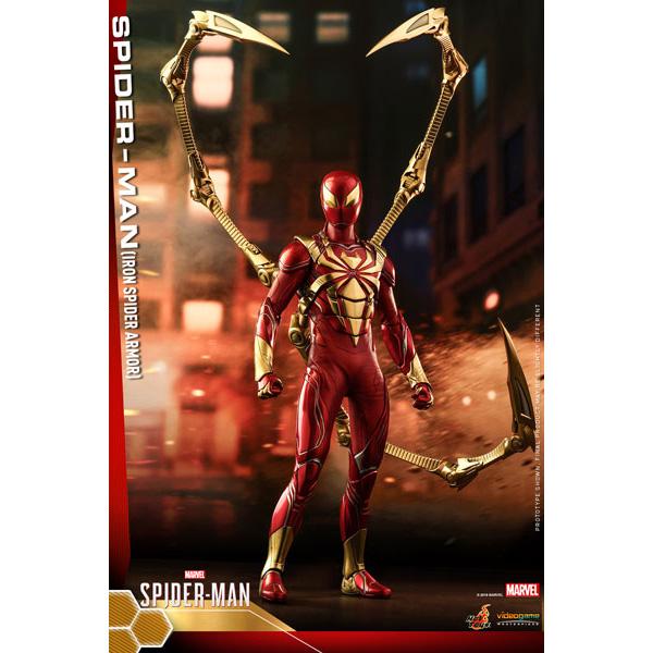 【限定販売】ビデオゲーム・マスターピース『スパイダーマン(アイアン・スパイダー・アーマー・スーツ版)』Marvel's Spider-Man 1/6 可動フィギュア