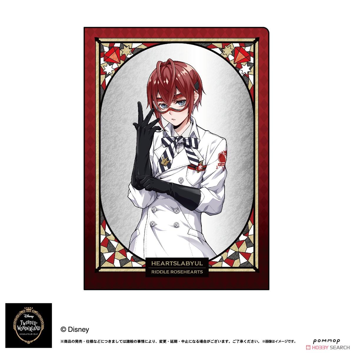 ディズニー ツイステッドワンダーランド『A5ダブルクリアファイルコレクション A』11個入りBOX-002