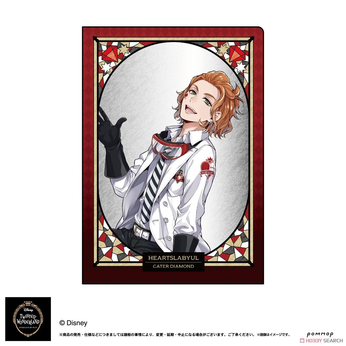 ディズニー ツイステッドワンダーランド『A5ダブルクリアファイルコレクション A』11個入りBOX-006