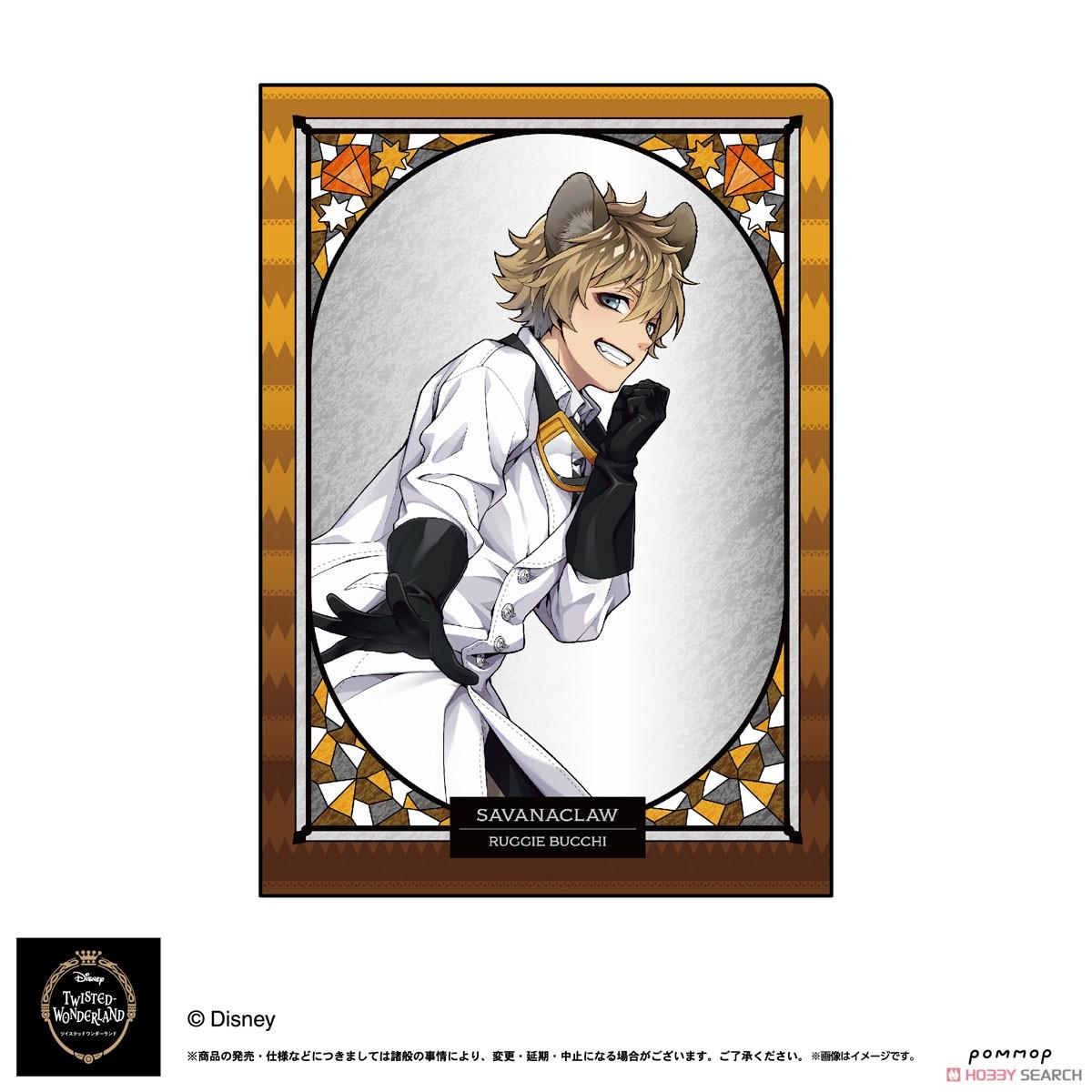 ディズニー ツイステッドワンダーランド『A5ダブルクリアファイルコレクション A』11個入りBOX-009